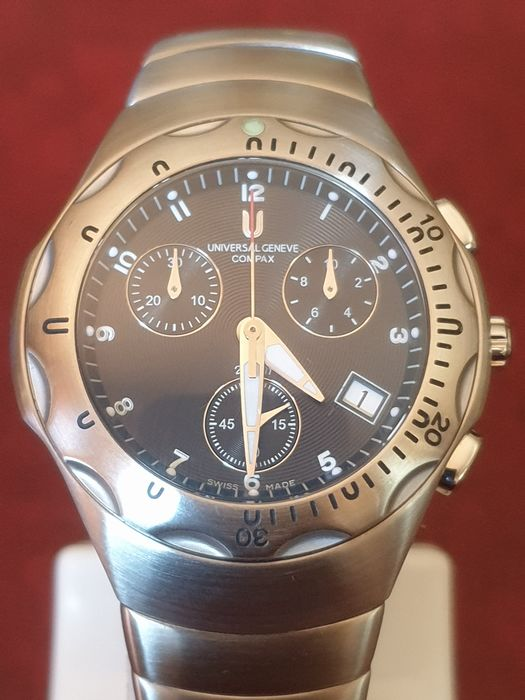 """Universal Genève - Compax Chronograph """"New Old Stock"""" - 853.830 - Men - 1990-1999"""
