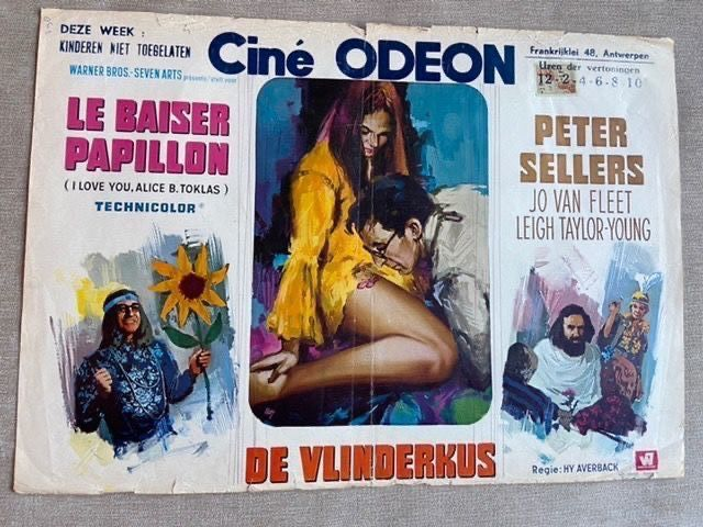 Lot of 120 - Vintage classics with great artwork - see photos - Poster, Original Belgian Cinema releases
