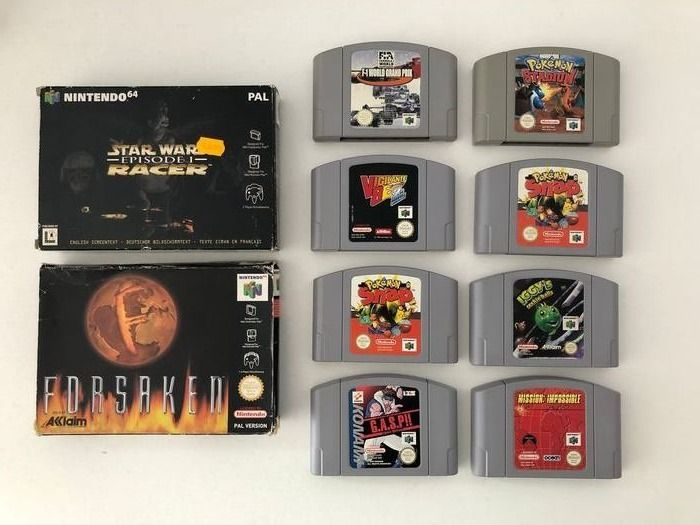 Nintendo 64 - Video Games (10) - In originele verpakking