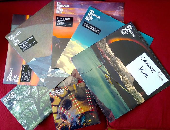 Noel Gallagher's High Flying Birds - Multiple titles - Limited edition, Limited picture disk, Picture disk limited edition - 2015/2019