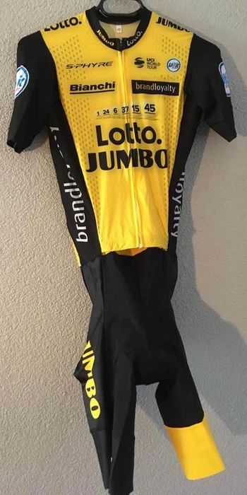 Team Lotto/Jumbo - Cycling - Steven Kruijswijk - Team wear