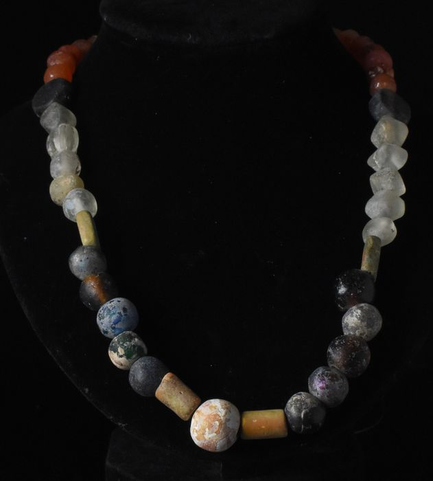 Ancient Roman Beaded Necklace