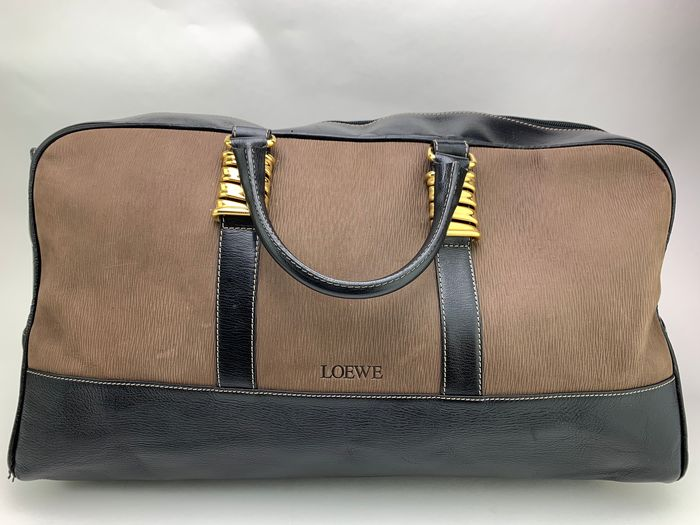 Loewe - Classic Madrid Leather 2Way Big Borsa da viaggio / borsa Boston