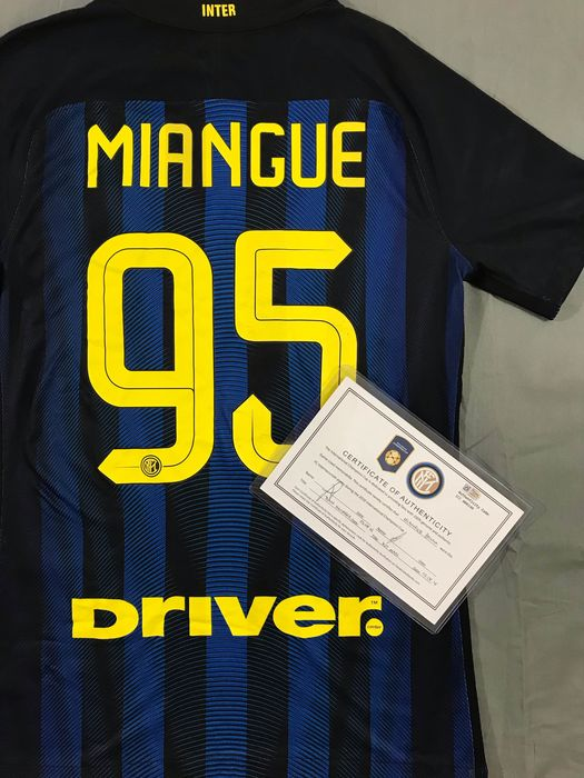 Inter Milan - International Champions Cup - Miangue - 2016 - Jersey