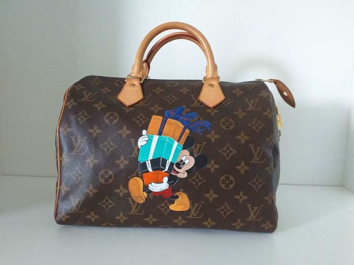 Customized Louis Vuitton - Customised Speedy 30 Handbag