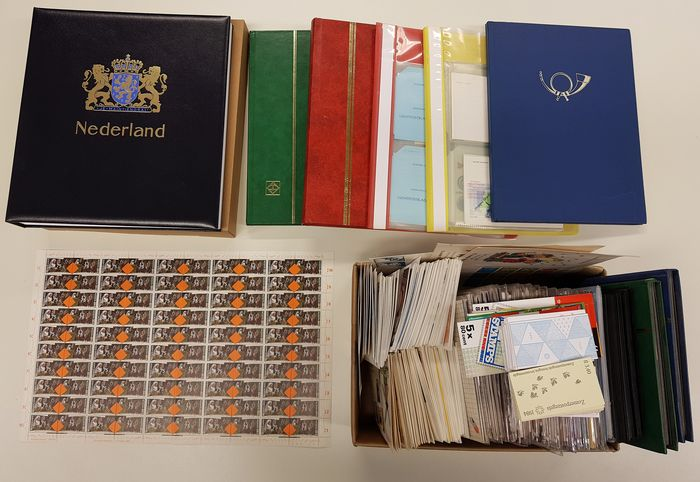 Netherlands 1960/2000 - Collection in 6 albums, folders, stock books and loose