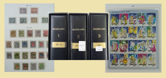 Netherlands 1869/2000 - Collection in three Importa Jewel albums