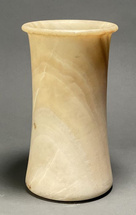Ancient Bactrian / Egyptian Alabaster Vessel