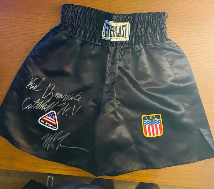 Team Iron Mike Tyson - Boxing - Mike Tyson - 2011 - Boxing trunk