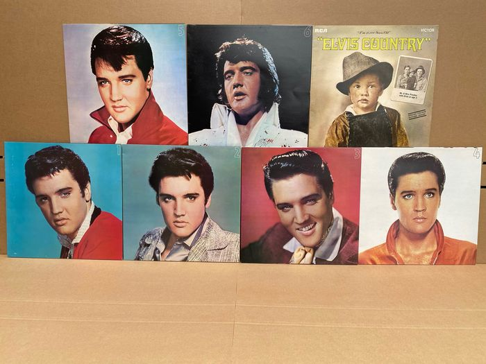 Elvis Presley - Multiple titles - LP Box set, LP's - 1970/1977