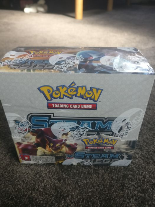 booster box sealed - Pokémon - Doos steam siege pokemon booster box sealed - 2016