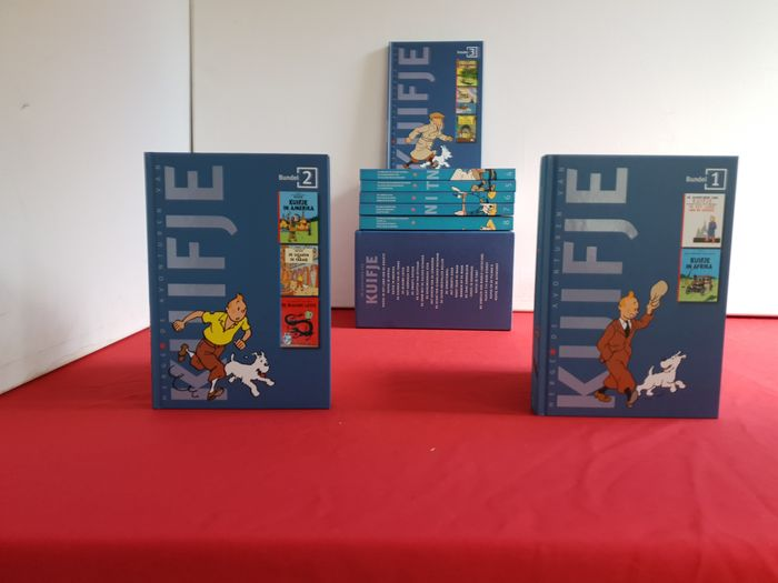 Kuifje - Box met 8 hardcovers (complete serie) - Hardcover - 1st edition of a reissue - (2008)