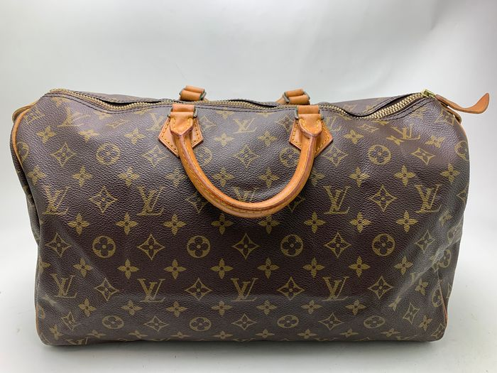 Louis Vuitton - NO RP  Speedy 40 M41522 Browns Monogram Handbag