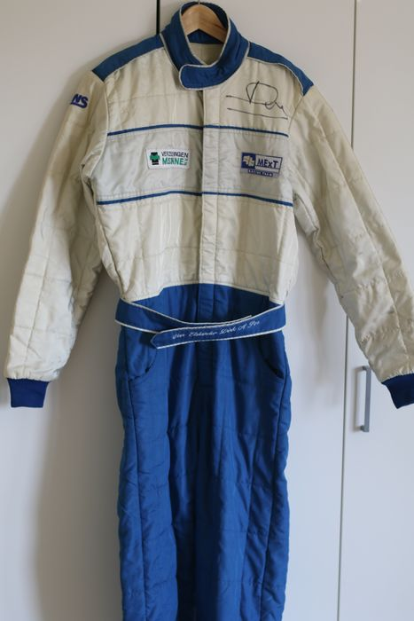 Clothing - Gesigneerde race overall Mext Racing - Sparco - After 2000