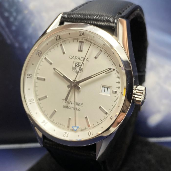 """TAG Heuer - Carrera TWIN-TIME GMT """"NO RESERVE PRICE"""" - WV2116-0 - Men - 2011-present"""