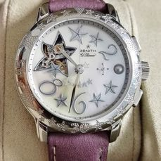 Zenith - El Primero Chronomaster Lady Baby star mother of pearl dial - 03.1233.4021 - Dames - 2000-2010