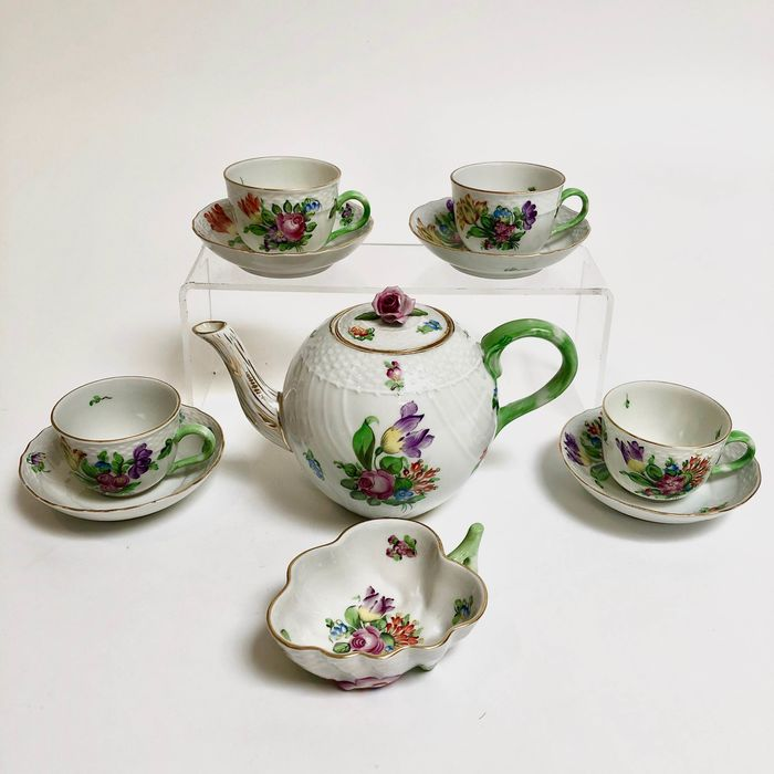 Herend - Tea set for 4 - Porcelain