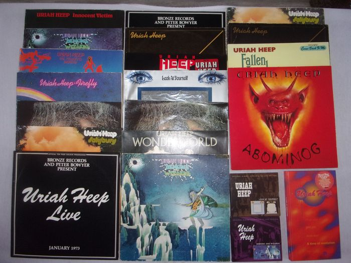 Uriah Heep Multiple Titles Cd Box Set Deluxe Edition Catawiki