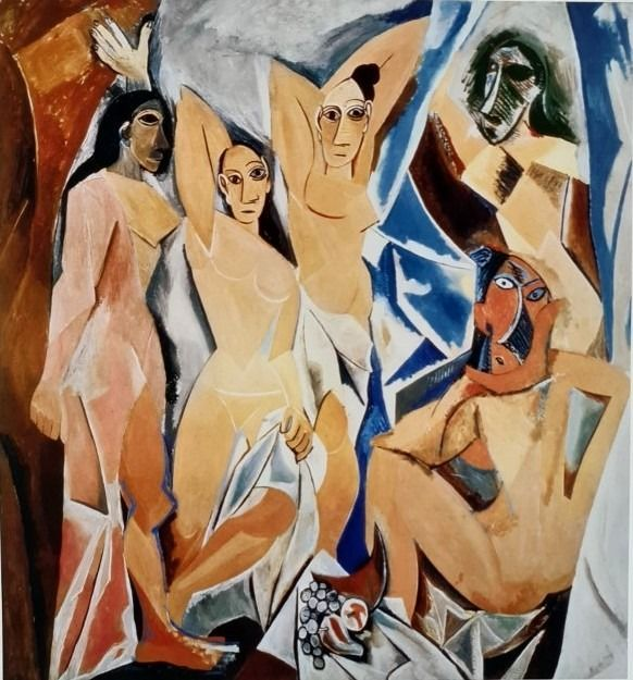 Pablo Picasso (after) - Women of Avignon