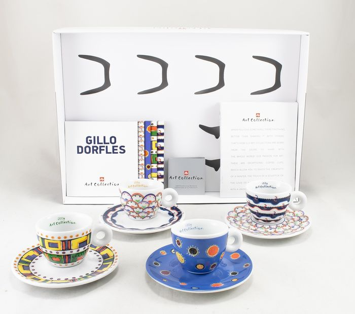 Gillo Dorfles - Illy - Espresso set - limited, numbered edition 99 pieces - Ceramic