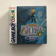 Nintendo Game Boy Color Very Rare The Legend of Zelda Oracle Of Ages! Mint Condition!!! - !