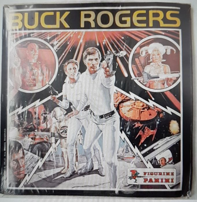 Buck Rogers in the 25th Century - Classic TV  - Panini - Vintage - 1980 - Complete set of 400 Cards plus empty Panini album (English)