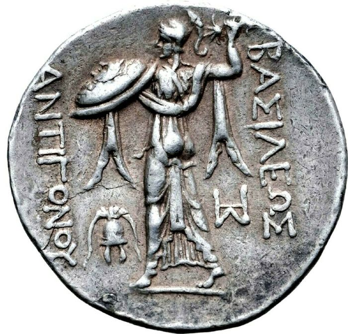 Greece (ancient) - Tetradrachm Kingdom of Macedon, Antigonos II Gonatas, Amphipolis, circa 274/1-260/55 BC. - Silver