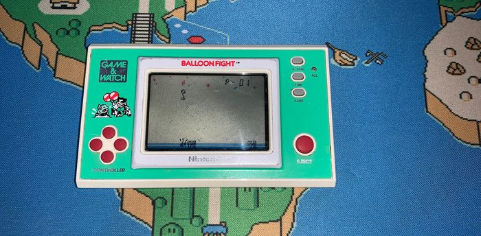 Nintendo, Balloon Fight Game & Watch, Wide Screen - Console
