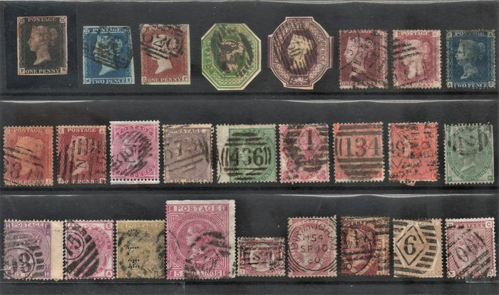Gran Bretaña 1840/1940 - Set of the period, including stamps of the Commonwealth - Stanley Gibbons