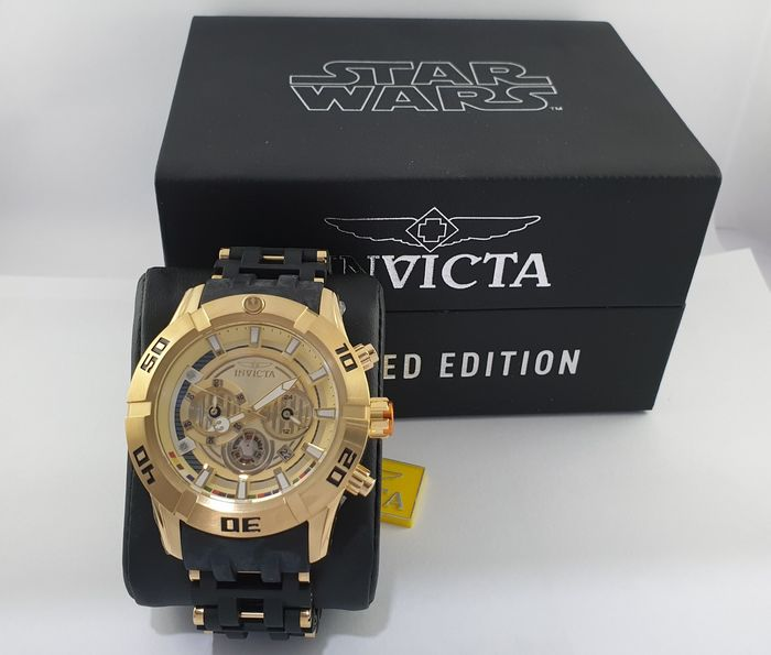 Star Wars - Invicta - Collectors edition, Watch - automatic winding model - limited edition - with original box