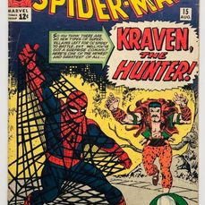 Amazing Spider-man 15 - 1st Appearance Of Kraven The Hunter - 2nd Appearance Of The Chameleon - 1st Mention Of Mary Jane. - Broché - EO - (1964)