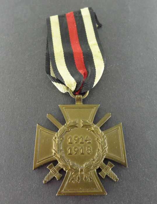 Germany - Cross of Honor of the First World War for front fighters 1914-1918 - Award
