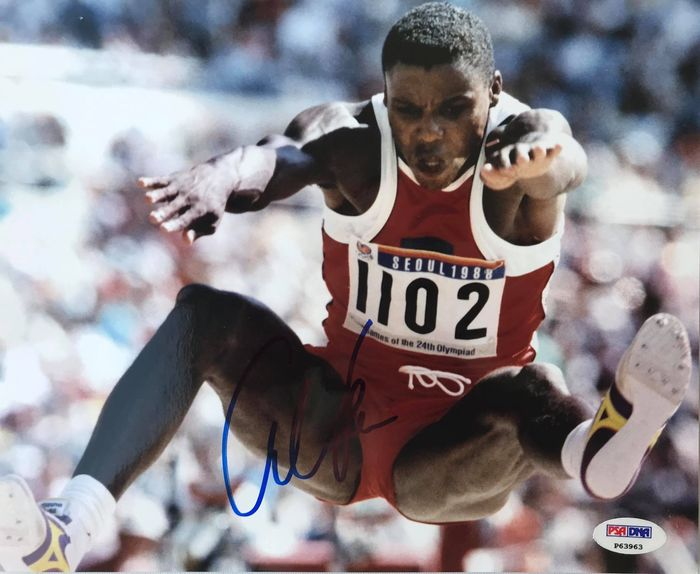 Olympics - Athletics - Carl Lewis - Photograph