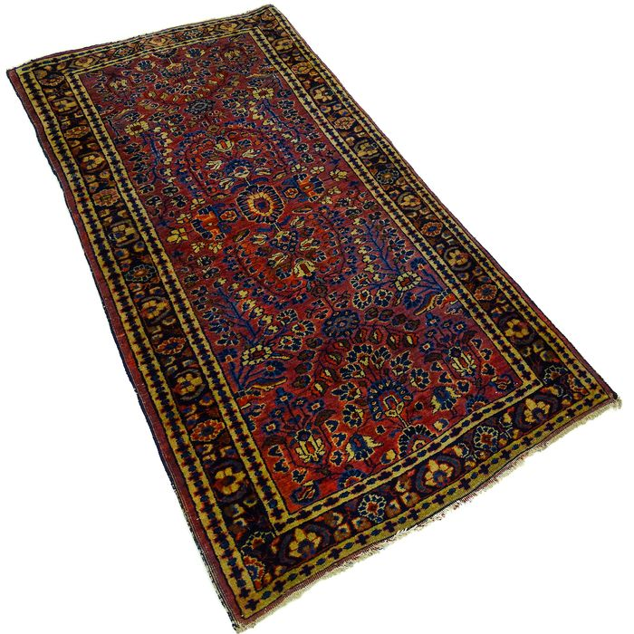 Sarouck - Antique carpet - 145 cm - 76 cm