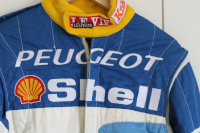 Clothing - Official racepak Peugoet 306 cup - Peugeot - 1980-1990