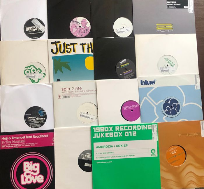"""Ivan,Crystal Waters, Beauty Queen,Kid Massive and More - Multiple artists - Multiple titles - Maxi single 12""""inch - 1995/2009"""