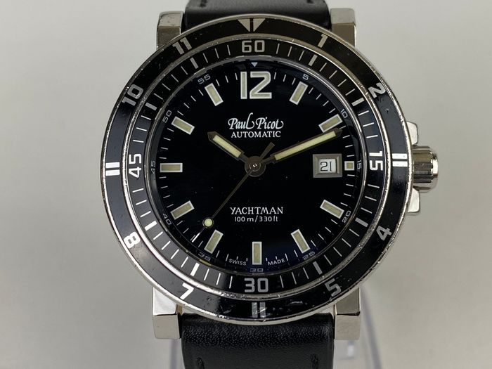 "Paul Picot - Yachtman ""NO RESERVE PRICE"" - 0951.S no.12 - Men - 2000-2010"