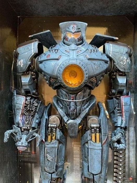 Pacific Rim - Neca, Warner Bros. - Statue(s) Battle damage Jaeger Gipsy Danger (48 cm)