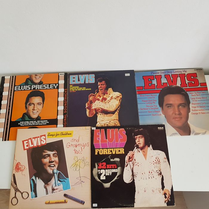 Elvis Presley - Multiple titles - 2xLP Album (double album), Limited edition, LP's - 1970/1979