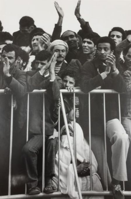 Marc Riboud (1923-2016) - 1974: A crowd spectators during Nov. 1st parade