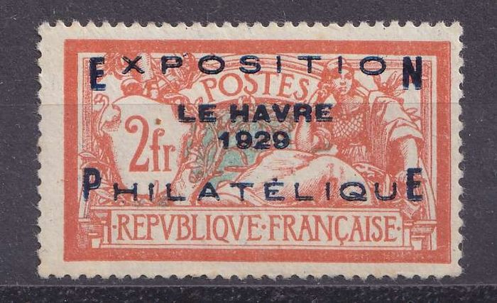 France 1928 - Sup Le Havre Exhibition. - Yvert 257A