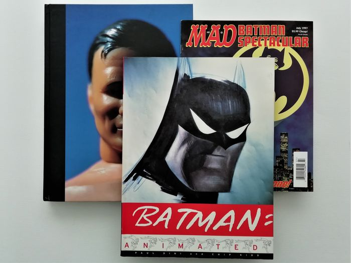 Batman - Animated (1998), Batman Collected (1996) and Batman Spectacular by MAD (1997) - -