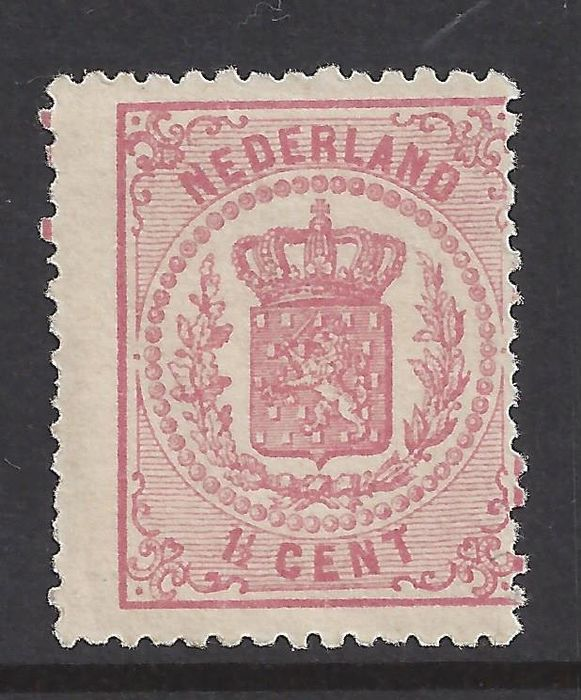 Netherlands 1869 - National coat of arms - NVPH 16