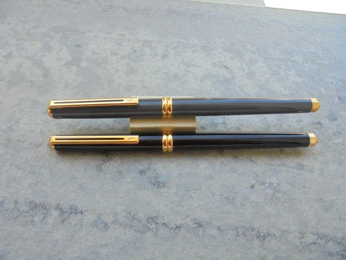 Inoxcrom - Fountain pen - 2 different and new Riviera Model Inoxcrom pens of 2