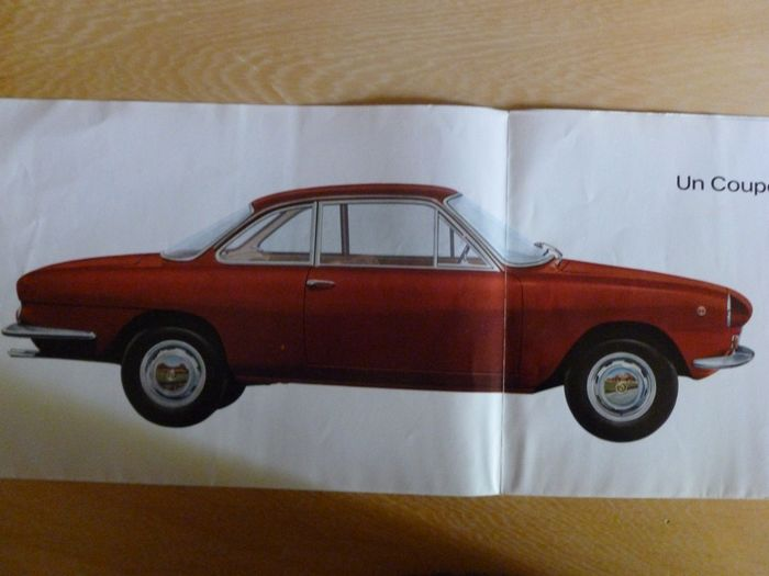 Brochures / catalogues - Superb 8 page Neckar Coupe 1500 TS ( Siata / Michelotti ) - Fiat, Neckar - 1960-1970