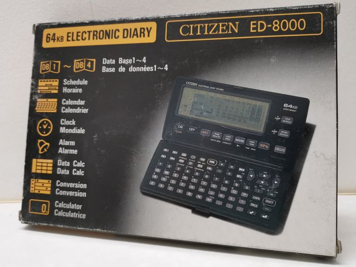 1 Citizen ED-8000 - Handheld - In original box