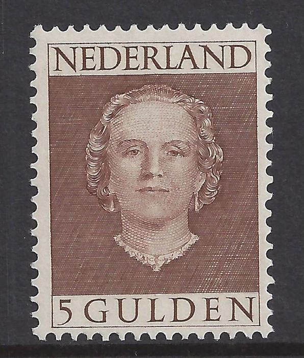 Netherlands 1949 - Queen Juliana 'en face' - NVPH 536