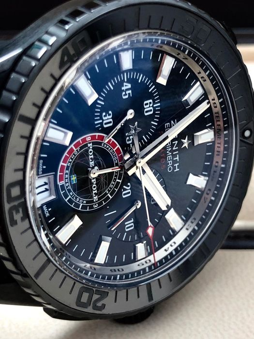 Zenith - Stratos Pole 2 Pole Flyback Chronograph Limited edition - 96.2062.405 - Homme - 2011-aujourd'hui