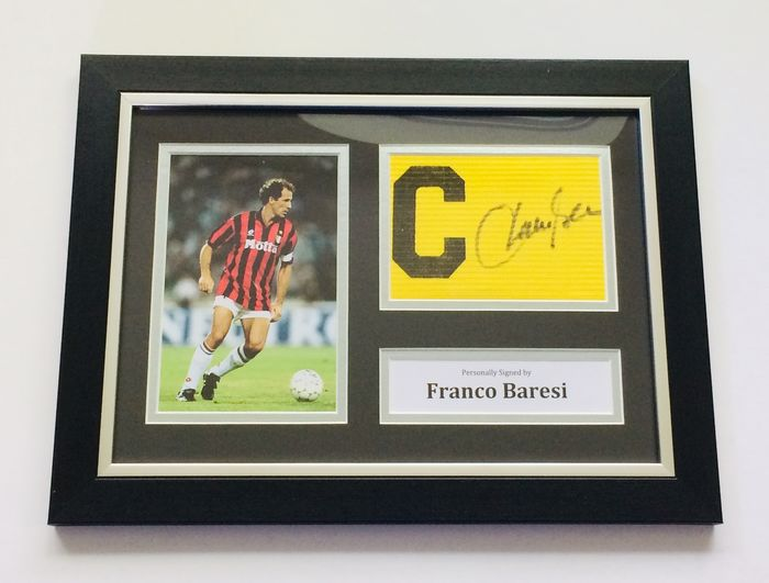 AC Milan - Champions Football League - Franco Baresi - Captain's Armand