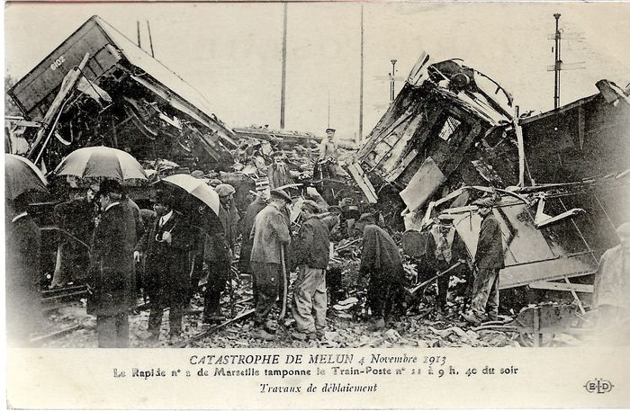 France - the great catastrophes of 1900 to 1920 - Postcards (Set of 34) - 1900-1920
